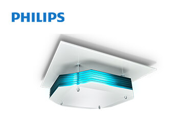 UV-C Disinfection Upper Air Ceiling Mounted